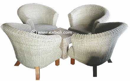 Bali banana leaf furniture