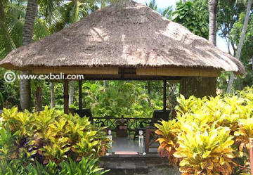 large balinese garden structure