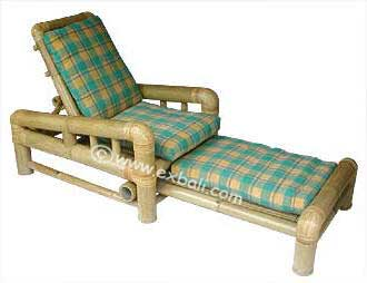 Bamboo lounging chair