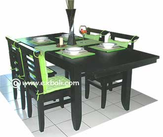 Contemporary Dining Furniture settings