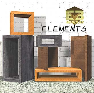 Modular Furniture elements