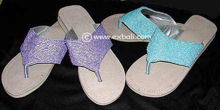Beaded Footwear Products from Indonesia