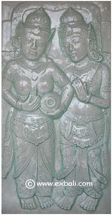 balinese Glass panels