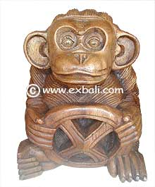 Carved Monkey Driver