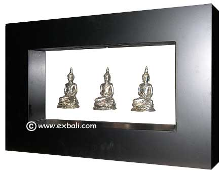 Floating Buddha in Frame