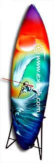 Airbrushed Surf boards