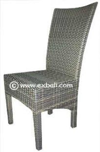 Outdoor synthetic fiber furniture