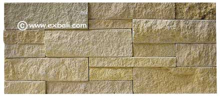 Exotic stone wall cladding