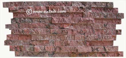Wall cladding ( Red Marble )